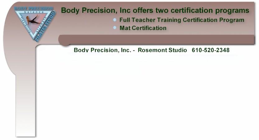 Body Precision Pilates Studio