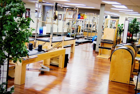 main line pilates class at body precision pilates studio
