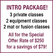 new clients save 10% on any 10-session package